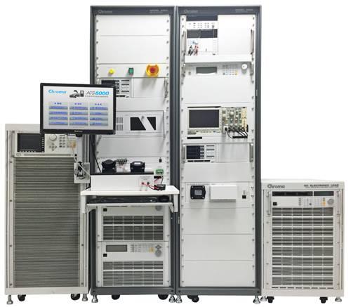 以chroma8000 ats为基础的客制化系统,专门针对交流充电桩与直流